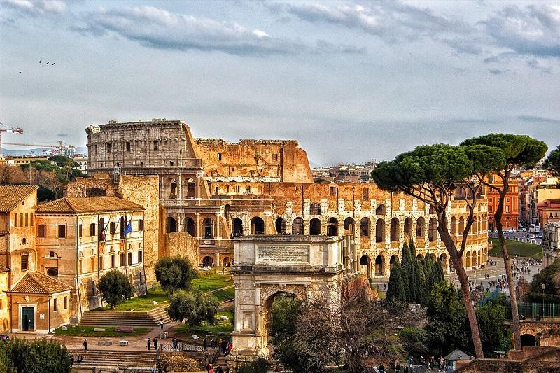 Visitare l'Europa: Roma, Italia