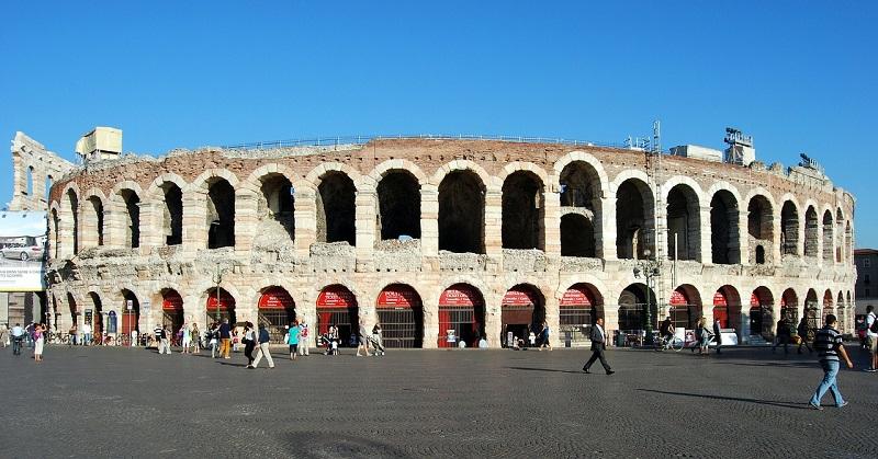 Arena di Verona, Italia