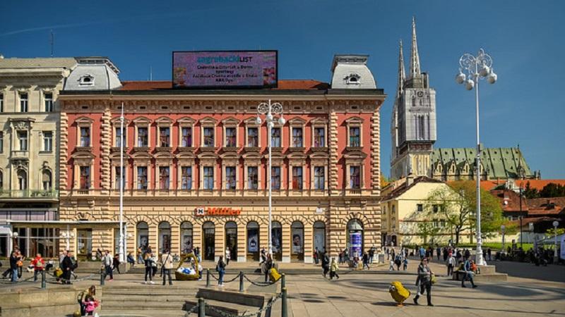 Zagabria - Ban Jelacic piazza