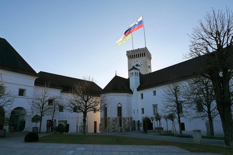 Castello di Lubiana, Slovenia