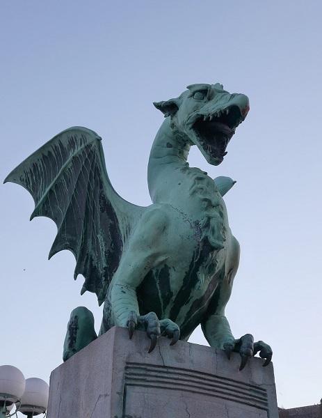 Il drago di Lubiana, Slovenia