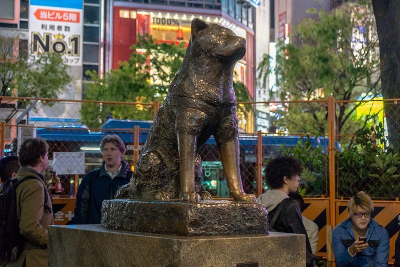 Un'altra Statua di Hachiko, Tokyo