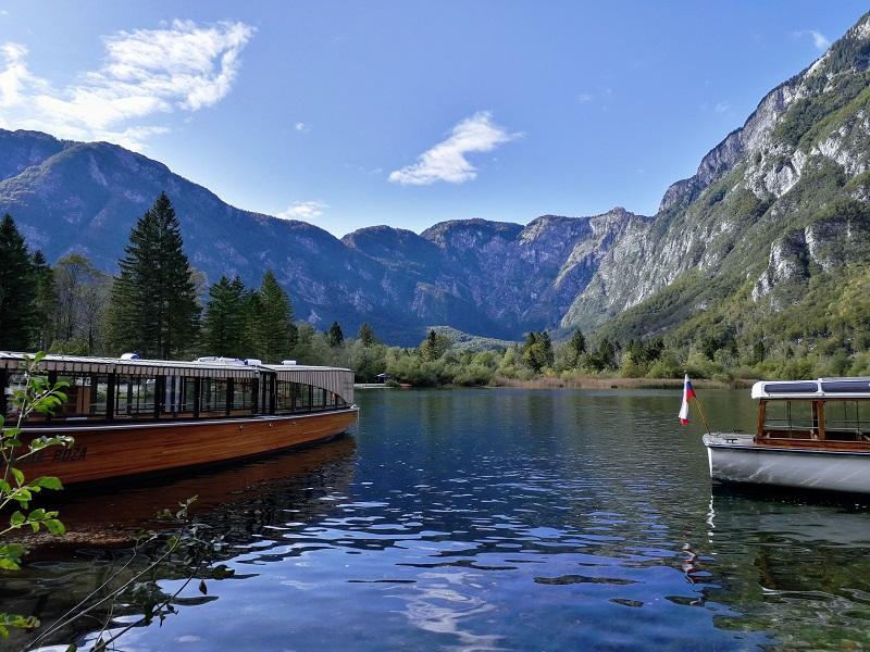 Lago di Bohinj, Slovenia