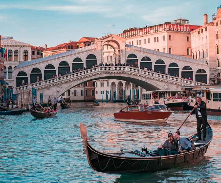 Venezia è una città costruita sulle acque del Mare Adriatico
