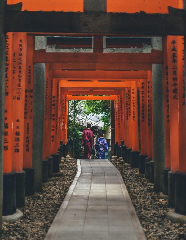 Fushimi Inari Taisha - Kyoto, Giappone