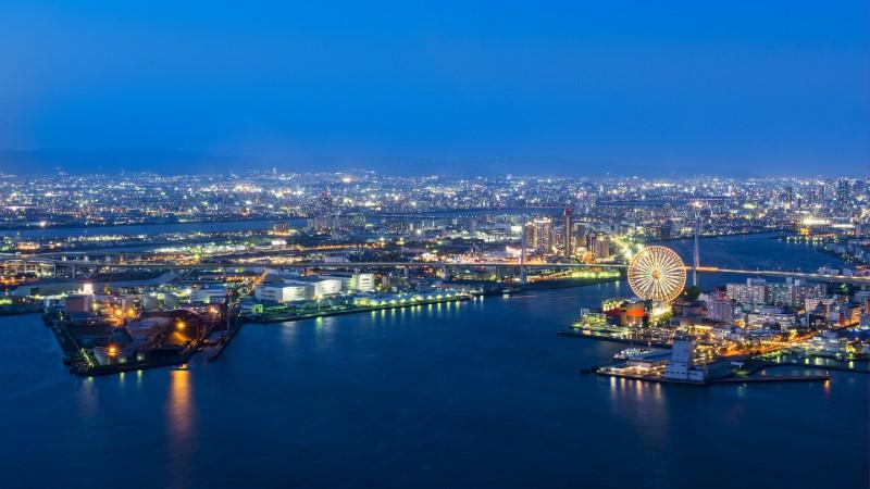 Porto di Osaka, Giappone