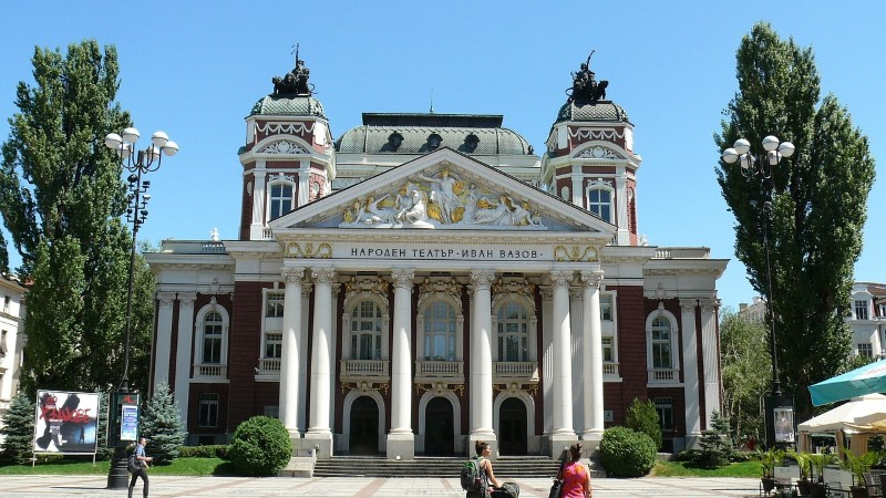 Bulgaria, Sofia - Teatro nazionale