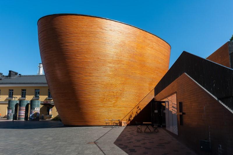 Cappella del Silenzio di Kamppi, Helsinki